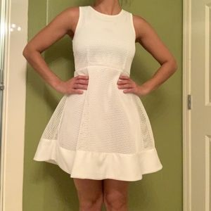 White Romeo+Juliet Couture Dress